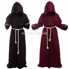 Medieval Renaissance Halloween Costumes Cheap Priest Robe Costume Aliexpress Alibaba Group