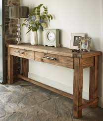 Entryway Table With Drawers Antique Entryway Furniture Appearance Feat Rustic Sofa Table With