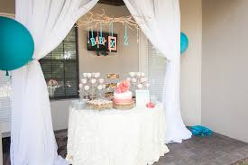 Elegant Baby Shower by An Elegant Baby Shower With And Boy Twins On The Way The