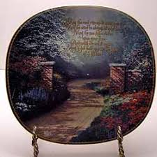blessing collector plate by kinkade