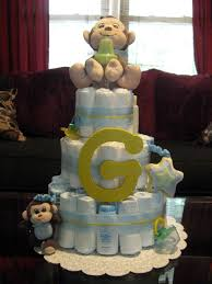 blue and yellow boy diaper cake cakes pinterest crafts ideas boys