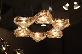 modern lighting fixtures at icff combine latest technology and