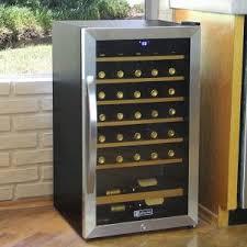 allavino 34 bottle cascina single zone freestanding wine cooler