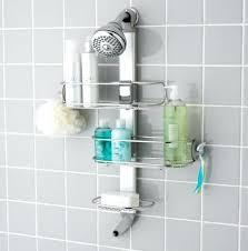 Bathroom Shower Storage Ideas In Shower Storage Shower The Container Store Bathroom Storage