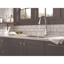 delta faucet 9183t dst mateo polished chrome pullout spray kitchen