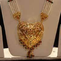 gold rani haar sets gold plated rani haar set rahul nri store manufacturer in