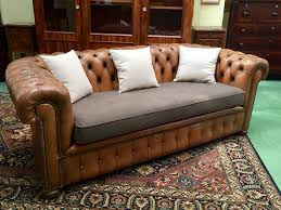 chesterfield leather sofa used vintage chesterfield leather sofa 1970s for sale at pamono
