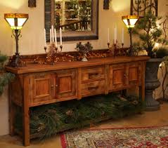 Rustic Dining Room Table Sets by Furniture Set Up Your Rustic Buffet Table For Stylish Living Room