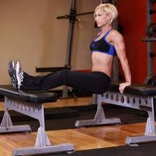 Triceps Bench Dips Triceps Workout Bench Dips Make Good Look