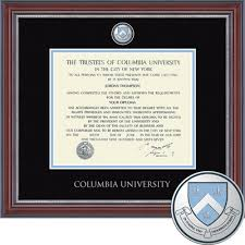 14x17 diploma frame diploma frames columbia bookstore