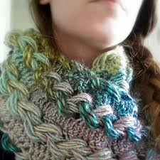 hairpin lace crochet ravelry braided hairpin lace infinity scarf pattern by b hooked