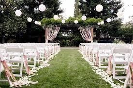 wedding aisle decor simple summer wedding aisle decor mywedding