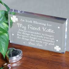 Personalized Paper Weight Gifts Irish Blessing Keepsake Made You Glad St Patrick U0027s Day Gifts