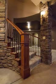 Ideas For Banisters Best 25 Basement Staircase Ideas On Pinterest Basement