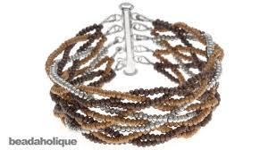 metal beads bracelet images How to do a loose 10 strand braid and make a bracelet jpg