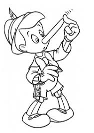 pinocchio coloring pages kids