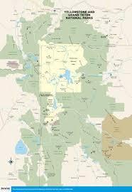 map usa showing wyoming map of usa and yellowstone world maps