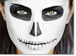 skull face paint google search