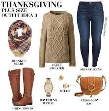 plus size thanksgiving webb