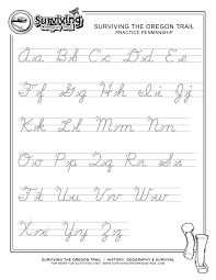 worksheet printable cursive worksheets a z mifirental free