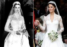 wedding dress grace kate middleton s wedding dress similar to gown worn by grace