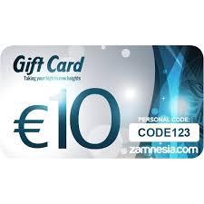 10 gift cards zamnesia gift card 10 zamnesia