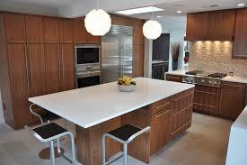 kitchen walnut kitchen cabinets silver stove modern stainless