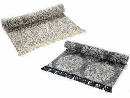 ingrosso tappeti tappeto puro cotone vintage effetto washed c frange 45 01