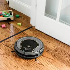 Can You Use A Shark On Laminate Floors Shark Ion Robot 750 App Controlled Robot Vacuum Gray Rv750 Best Buy