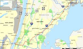 Map Of New York Harbor by U S Route 1 In New York Wikipedia