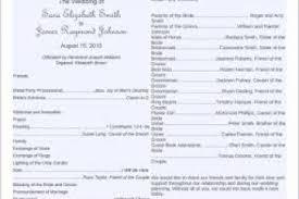 sle wedding programs templates diy wedding programs microsoft word diy craft