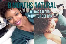 best curl activator gel for hair 8 months natural long aid curl activator gel rant youtube