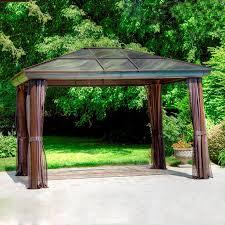 garden hampton bay gazebo replacement canopy hampton bay gazebo