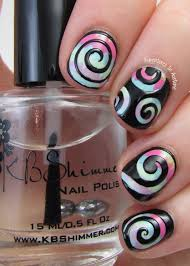 kbshimmer swirl nail vinyl review adventures in acetone