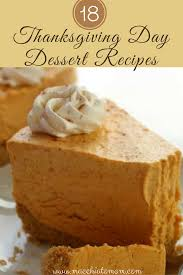 18 scrumptious thanksgiving day dessert recipes for both