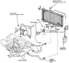 1994 honda accord radiator honda accord 88 radiator diagram and schematics