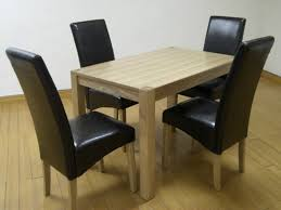 small table and chairs cyprus solid ash ash veneer small table 4 chairs 395 00 tbs