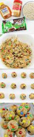 no bake monster cookie oatmeal energy balls princess pinky
