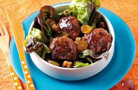 cuisiner des boulettes de boeuf boulettes de bœuf aux raisins secs recettes de cuisine la