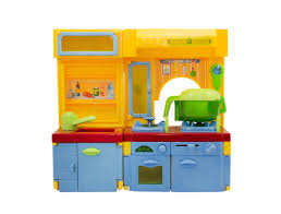 plastique cuisine jouet en plastique de cuisine d isolement sur le blanc image