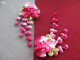 2018 wholesale japanese traditional style kimono flower hairpin