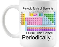 Periodic Table Mug Periodic Table Mug Etsy