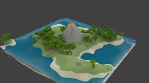 tutorial blender terrain takashi island custom terrain minecraft project