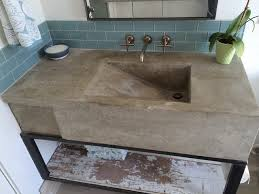 how to build a concrete sink custom concrete sink modern austin by build austin home devotee