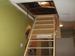 attic pulldown stairs inspirations easy attic pulldown stairs