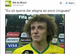 David Luiz Meme - atua礑磽o de david luiz no empate contra o uruguai gera memes nas