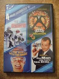awesome 4 film favorites classic comedy dvd 2 disc set sealed