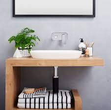 Vanity Basins Online Concrete Wall Timber Vanity Caroma Australia Contura Basin And