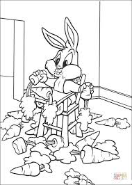 baby bugs bunny coloring free printable coloring pages