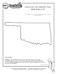 what state is it oklahoma kids free geography worksheet